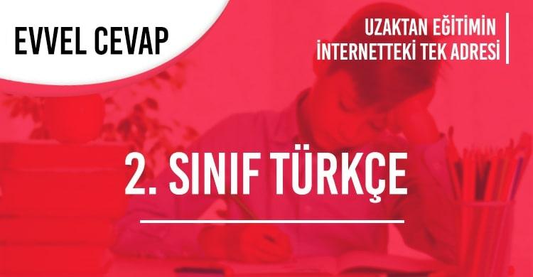 2. Sınıf Türkçe Test Çöz