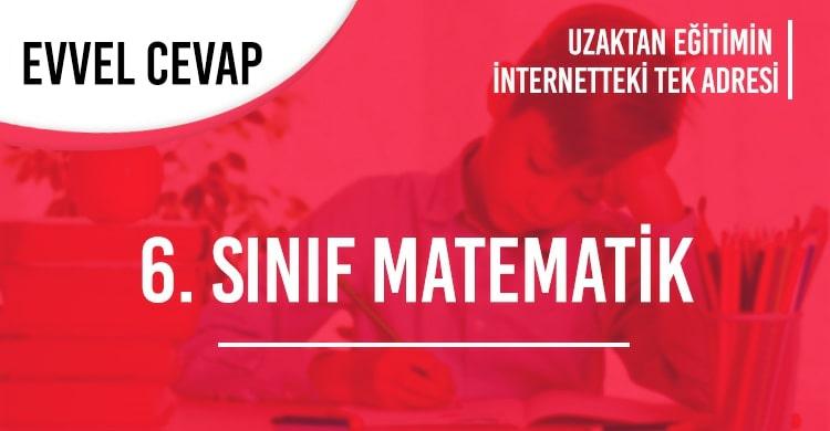 6. Sınıf Matematik Test Çöz